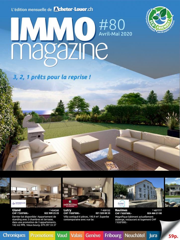 Annonces immobili res suisse maisons appartements vendre for Acheter une maison en suisse romande