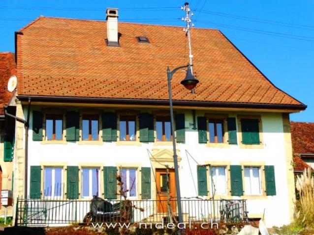 Annonces immobilier vendre en suisse maison 11 pi ces for Location appartement yverdon suisse