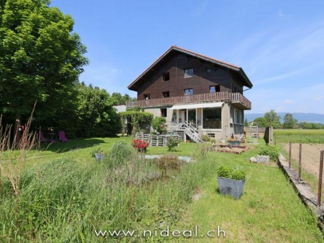 Annonces immobilier vendre en suisse maison 8 5 pi ces grancy vaud - Acheter vendre louer ...