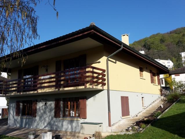 Annonces immobilier vendre en suisse maison 6 5 pi ces for Acheter maison france voisine geneve