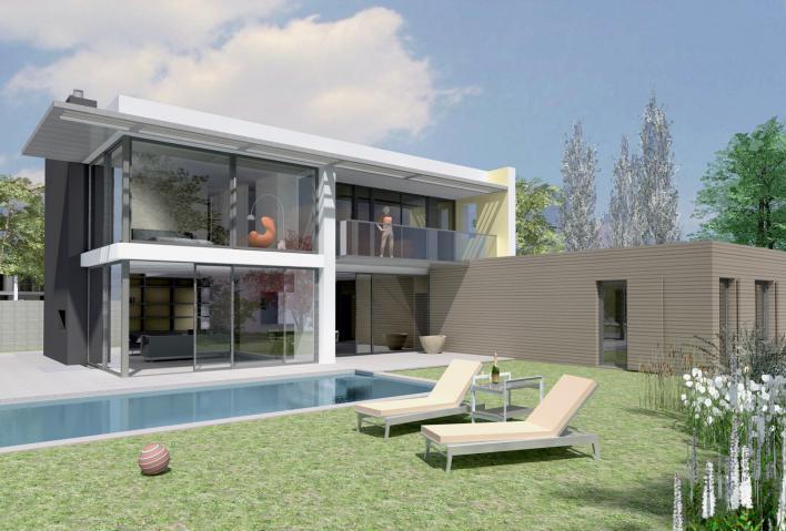 Annonces immobilier vendre en suisse maison buchillon for Maison moderne 400m2