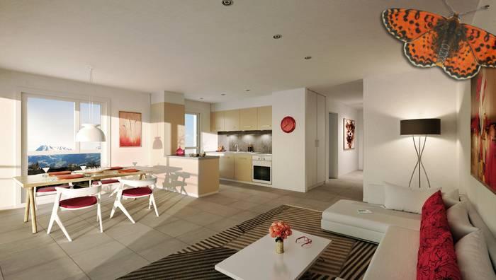Annonces immobilier vendre en suisse appartement 2 5 pi ces bulle fribourg - Achat appartement bulle ...